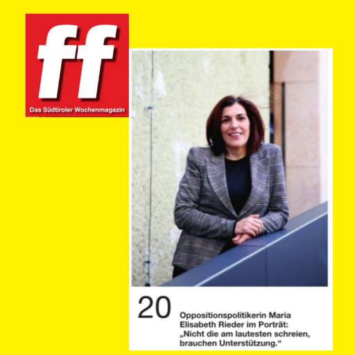 Heute im Wochenmagazin _ff_